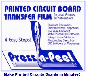 Make Printed Circuit Boards in Minutes!